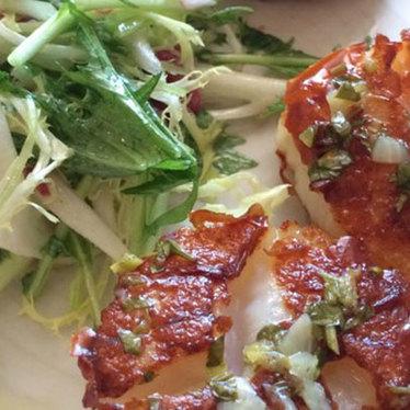 Grilled scallops at Hopscotch Restaurant & Bar