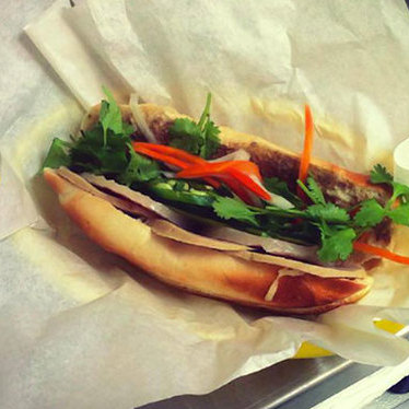Original bánh mì at saigon