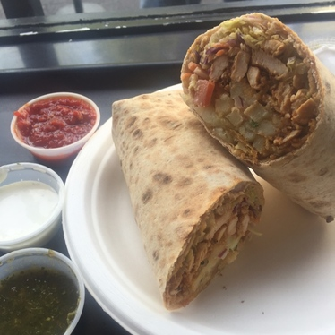 Chicken Shawarma Wrap at Dish n Dash