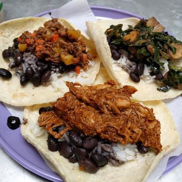 3 Tacos and a Beer at Tacos Cala
