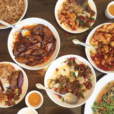 Lunch at Chong Qing Mei Wei Chuan Cai