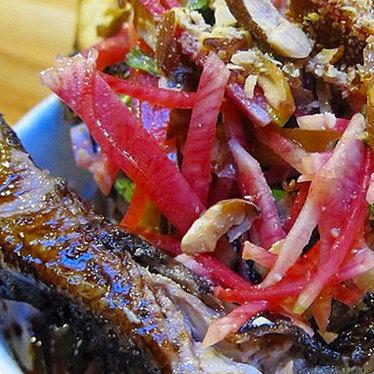 Lamb ribs at Liholiho Yacht Club