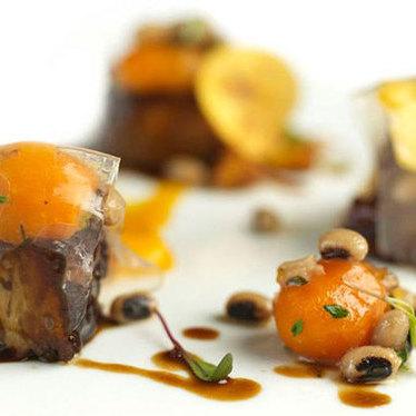 Jamaican jerk pork belly at Nine-Ten Restaurant and Bar