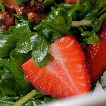 Prado pressed arugula salad at The Prado at Balboa Park