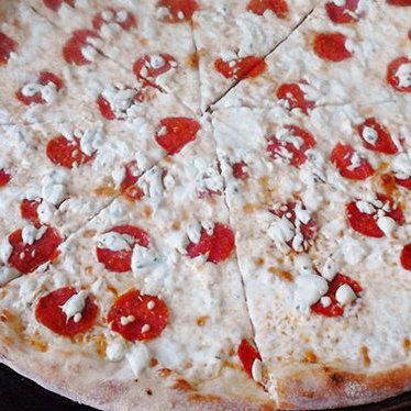 Whitestone pepperoni at Bronx Pizza