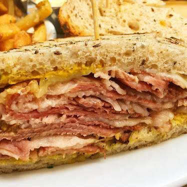 Pastrami Sandwich at Tico