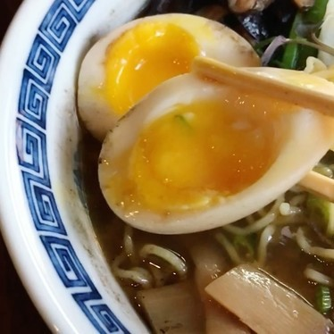 Shoyu ramen with egg and pork shoulder at Zen Box Izakaya