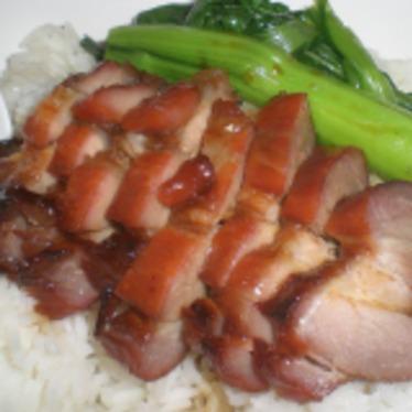 Char siu pork at Oriental House