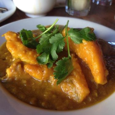 Pork and Pumpkin Stew with Coconut Rice at Burma Superstar
