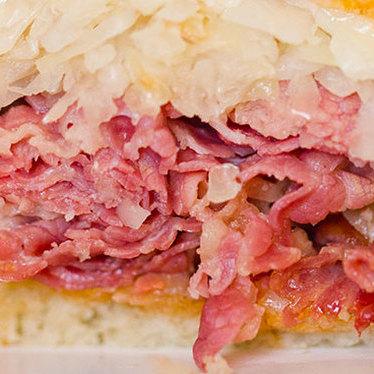 Reuben sandwich at Stein's Market & Deli