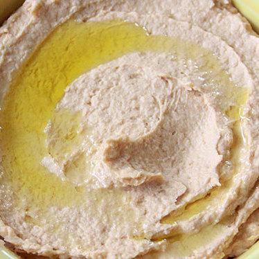 Hummus at Café Barada
