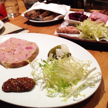 Charcuterie at Bar Boulud