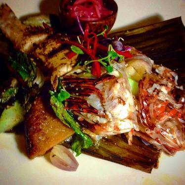 Lionfish at The Breadfruit & Rum Bar