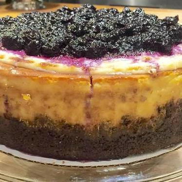Blueberry sour cream cheesecake  at The General Muir