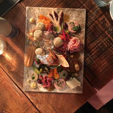Charcuterie board  at Pig Ate My Pizza