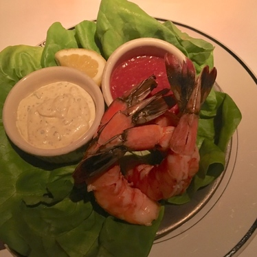 Chilled Jumbo Shrimp w/ cocktail sauce & remoulade at Hillstone