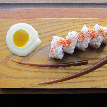 Ham and eggs roll at Uchi