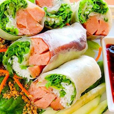 Vegan roll at Vinh Loi Tofu