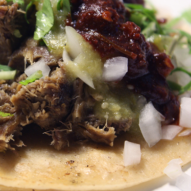 Tacos at 5 Spot Chivas Grill