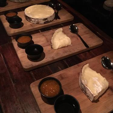 Harbison Brie, sourdough, orange jam at Granville Moore's
