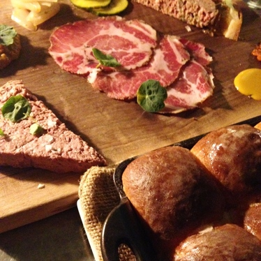 Charcuterie at Spoon and Stable