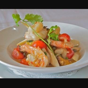 Camarones Henesy en Hamaca!  at Arturo Boada Cuisine