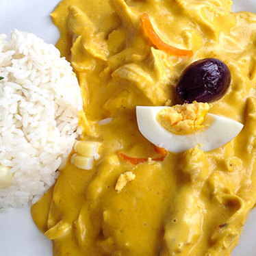 Aji de gallina at Qusqo Bistro & Gallery