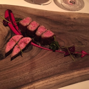 A-5 Wagyu at Aubergine
