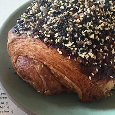 Everything croissant at Superba Food + Bread