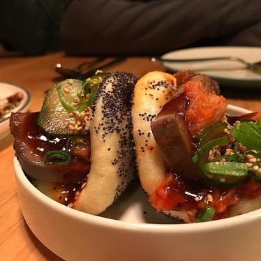 Beef tongue buns at Liholiho Yacht Club
