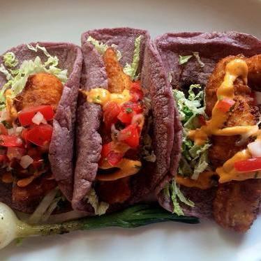 Baja fish tacos at Hugo's
