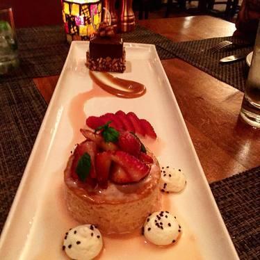 Desserts in the desert! at Loews Ventana Canyon Resort Restaurants