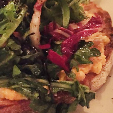 N'duja pimento cheese toast at CBD Provisions