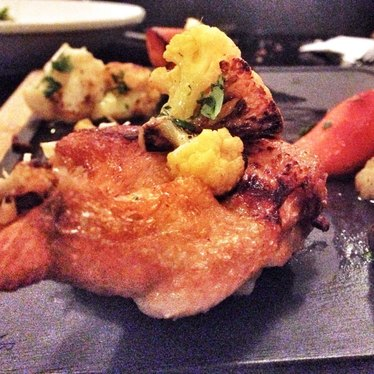 Chicken confit at Tidal
