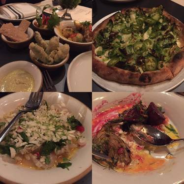 Assorted plates at Loring Place