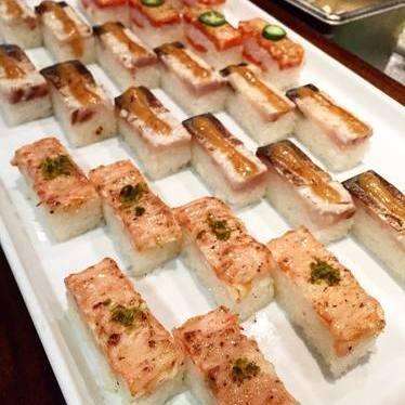 Aburi sushi at Minami Restaurant