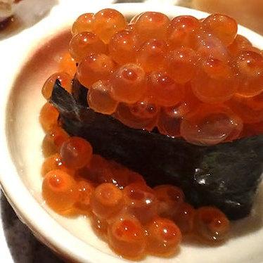 Ikura nigiri at Sushi Izakaya Gaku