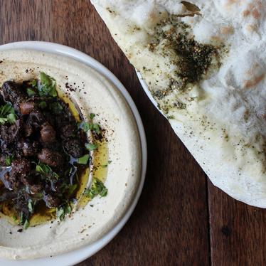 Hummus-foul at Zahav