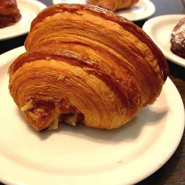 Ham and cheese croissant at Arsicault Bakery