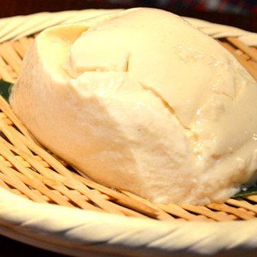 Hand-made zaru tofu at Oishii Boston