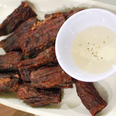 Cambodian beef jerky at Sophy's Fine Thai & Cambodian Restaurant
