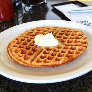 Waffle at Liliha Bakery