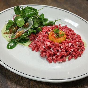 Beef tartare at Woodberry Kitchen