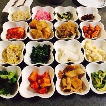 Water kimchi w/ noodles at Jong Ga House