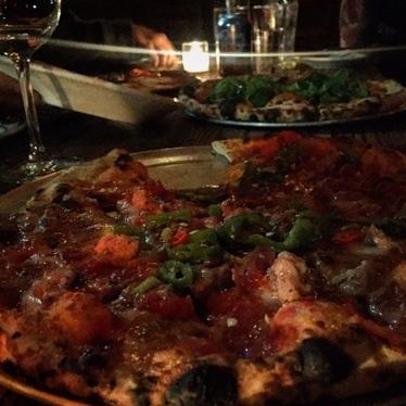 Pizza at Speedy Romeo LES
