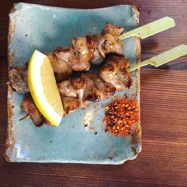 Chicken Heart Yakitori at Izakaya Rintaro