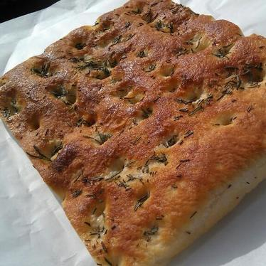 Foccacia at Liguria Bakery