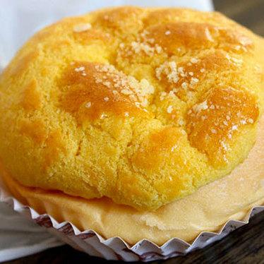 Crispy melted egg custard bun at Fung's Kitchen