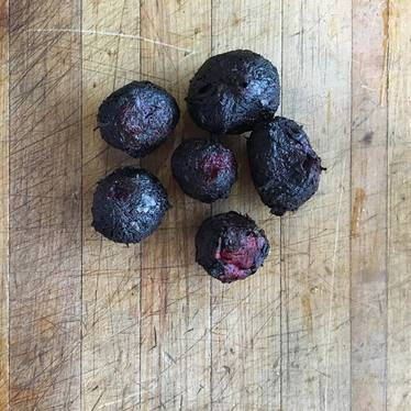 Charred beets at Fable