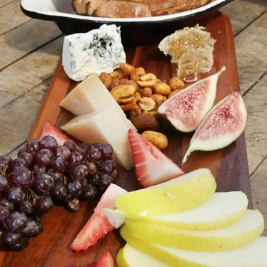 Cheese board at Panama 66